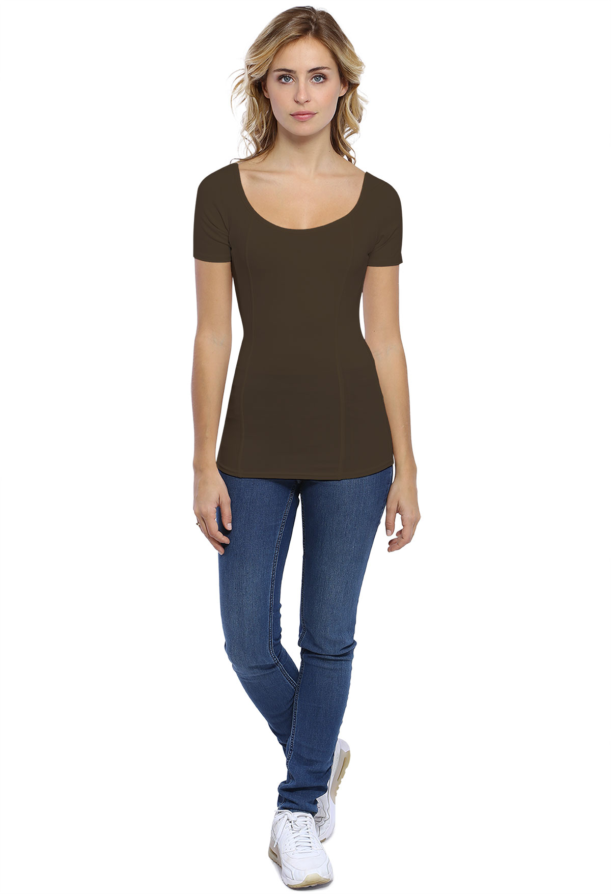 CATE T-SHIRT M/COURTES