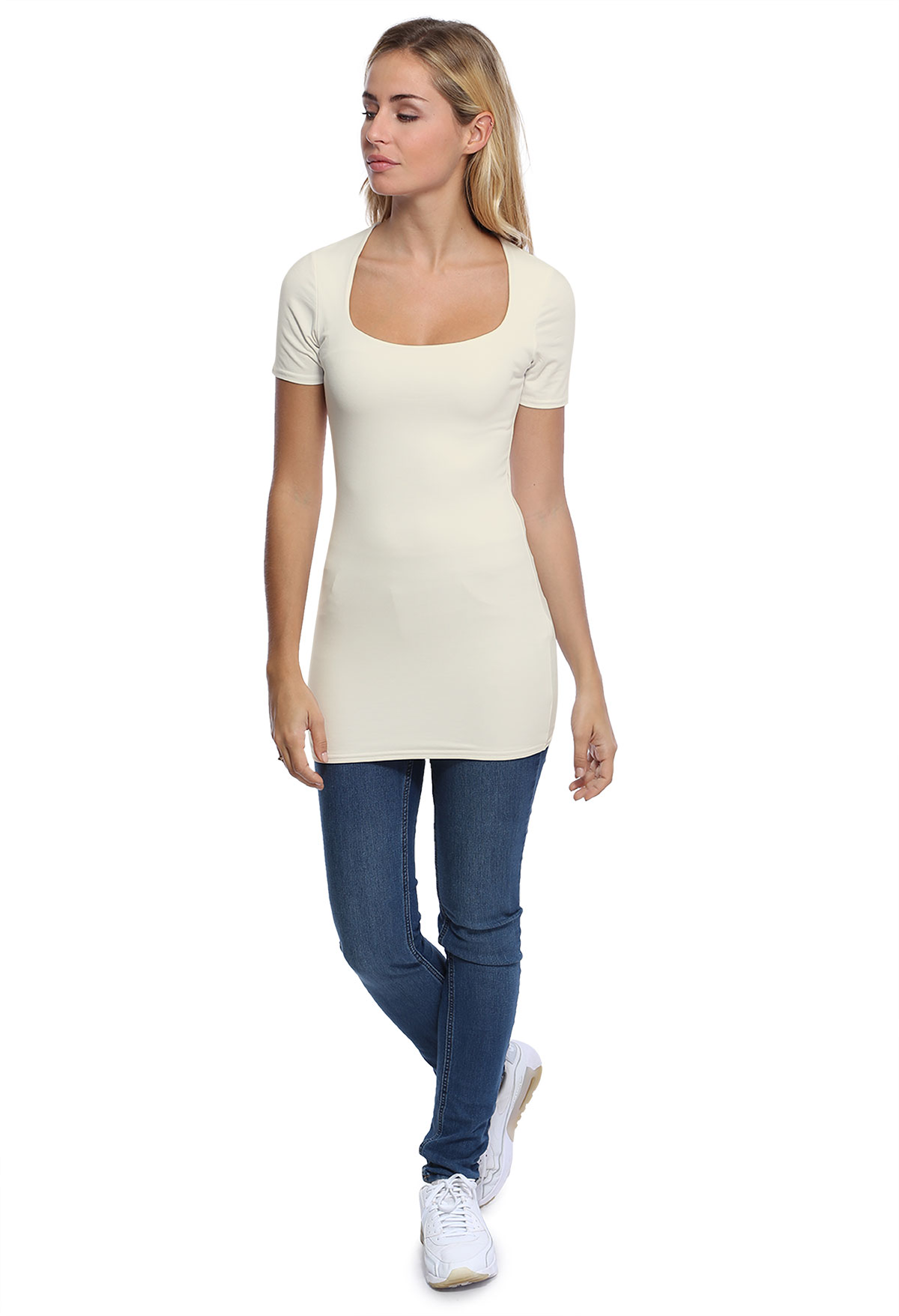 CLARA LONG T-SHIRT M/COURTES