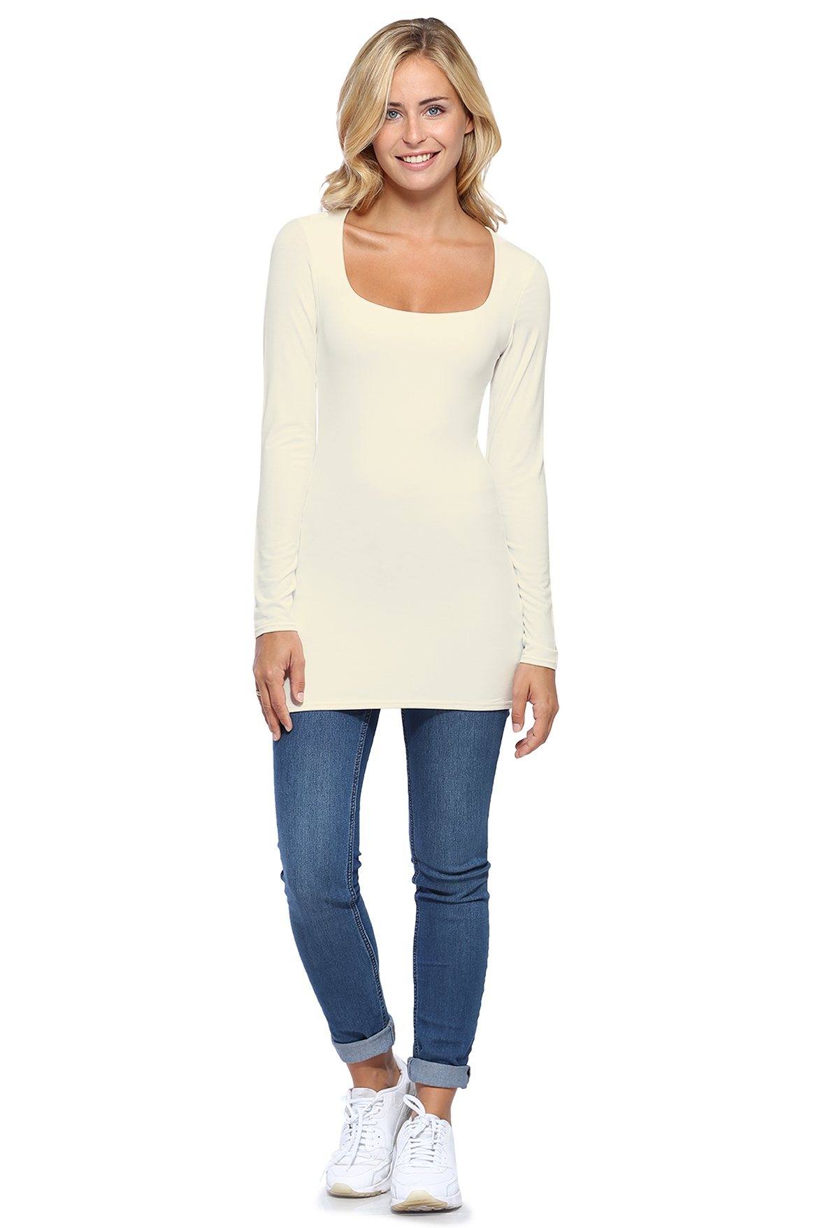 CLARA LONG T-SHIRT M/LONGUES