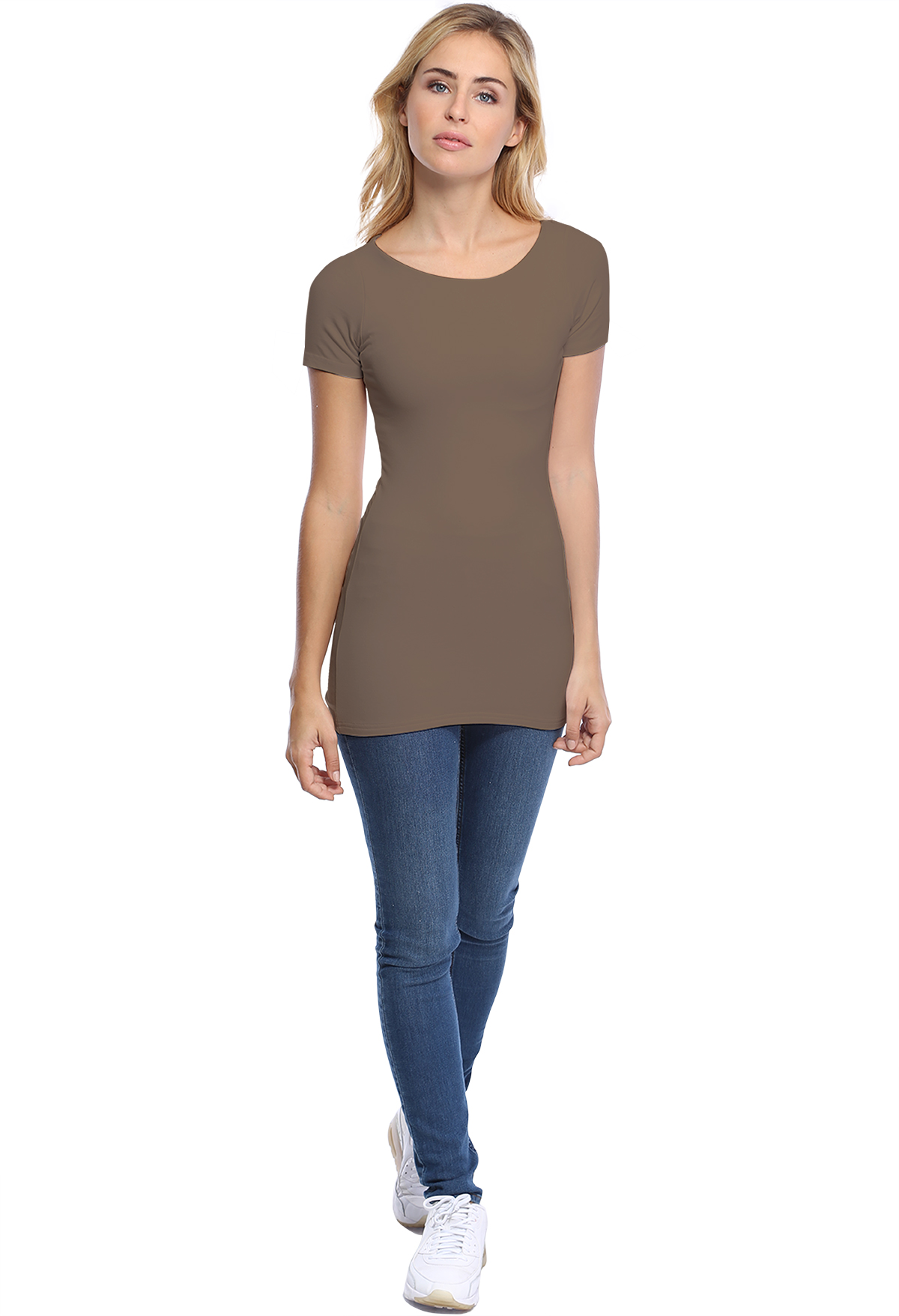DORIS LONG T-SHIRT M/COURTES