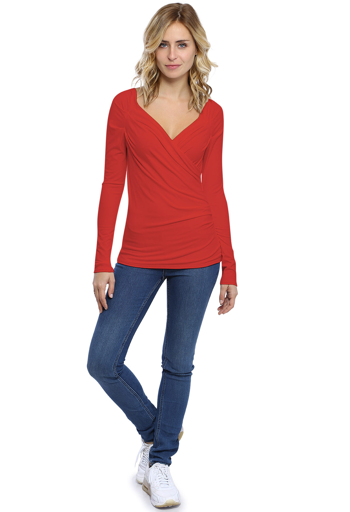 WRAP-OVER TOP Gerry L/S