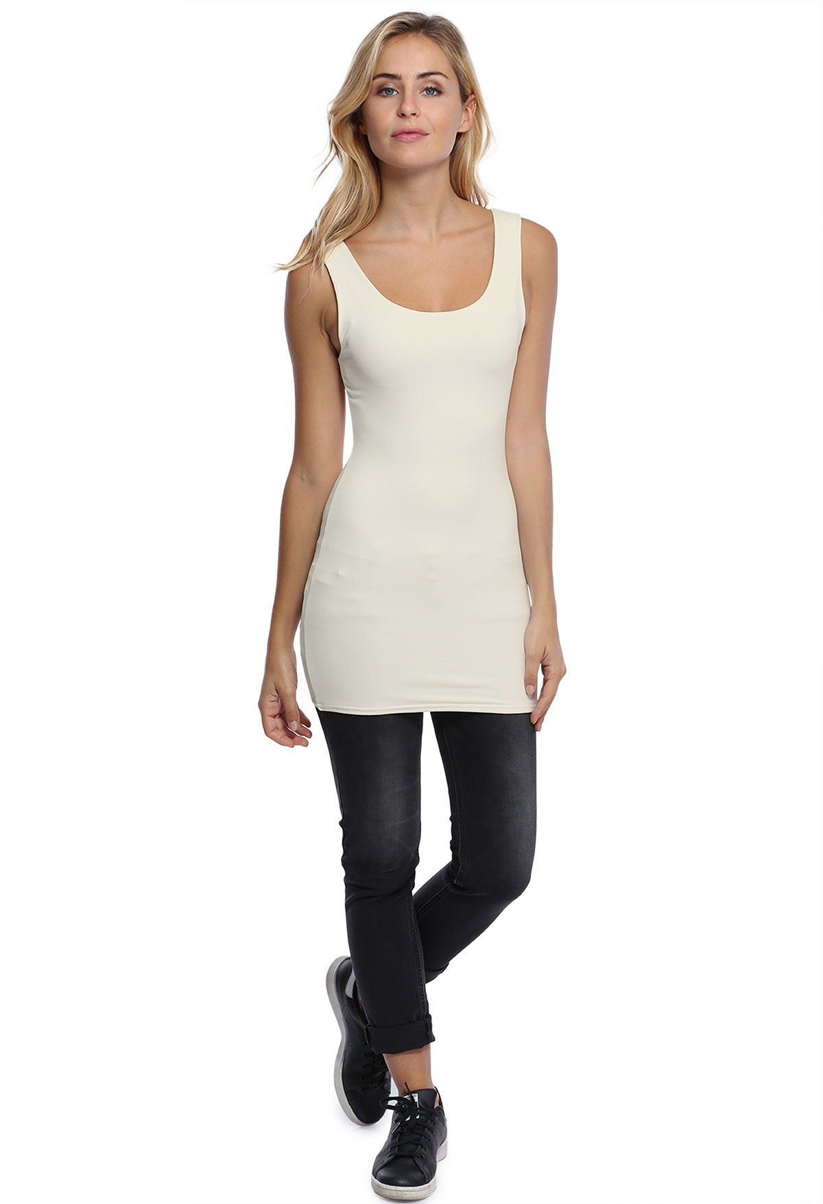 ROXANE LONG TANK TOP