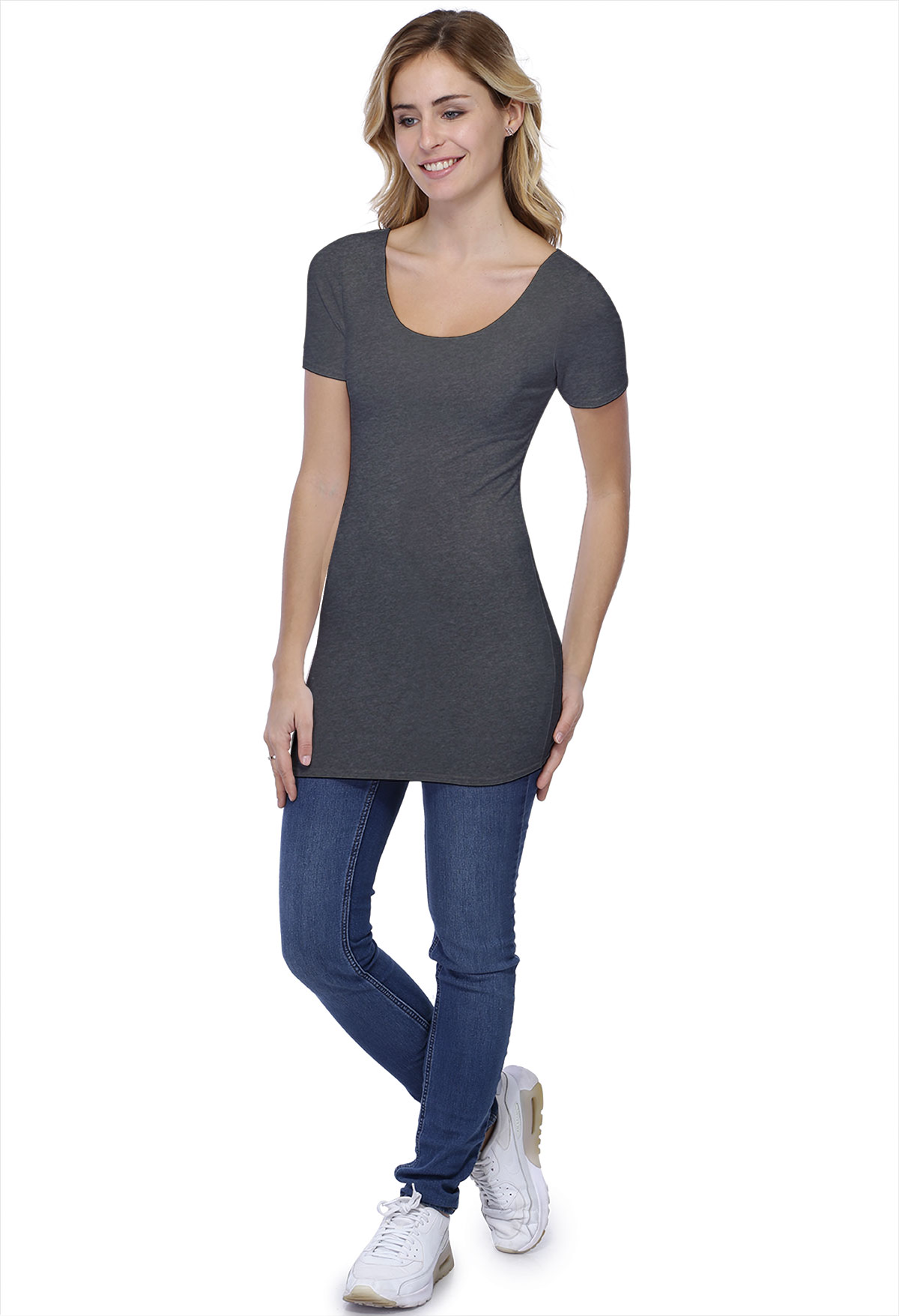 T-SHIRT LONG Roxane M/C+