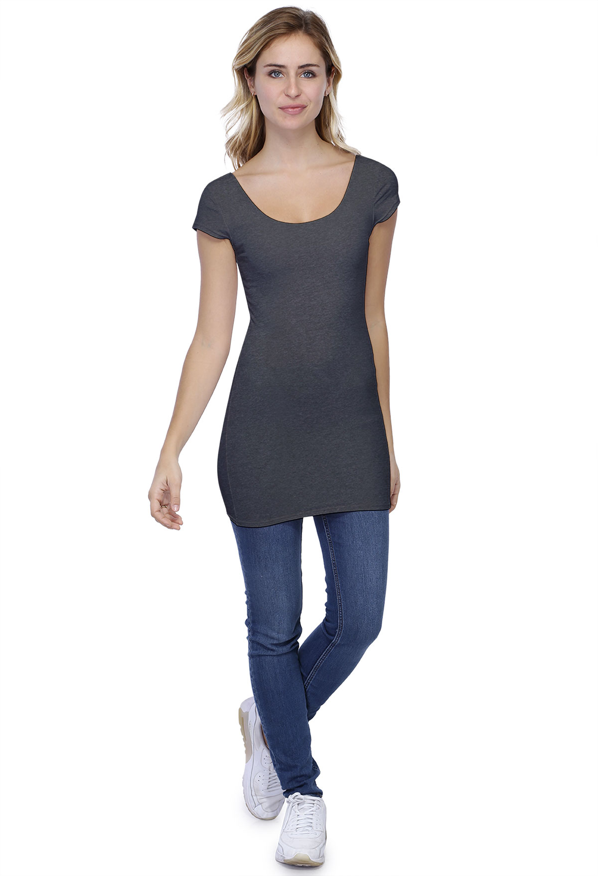 T-SHIRT LONG Roxane M/C
