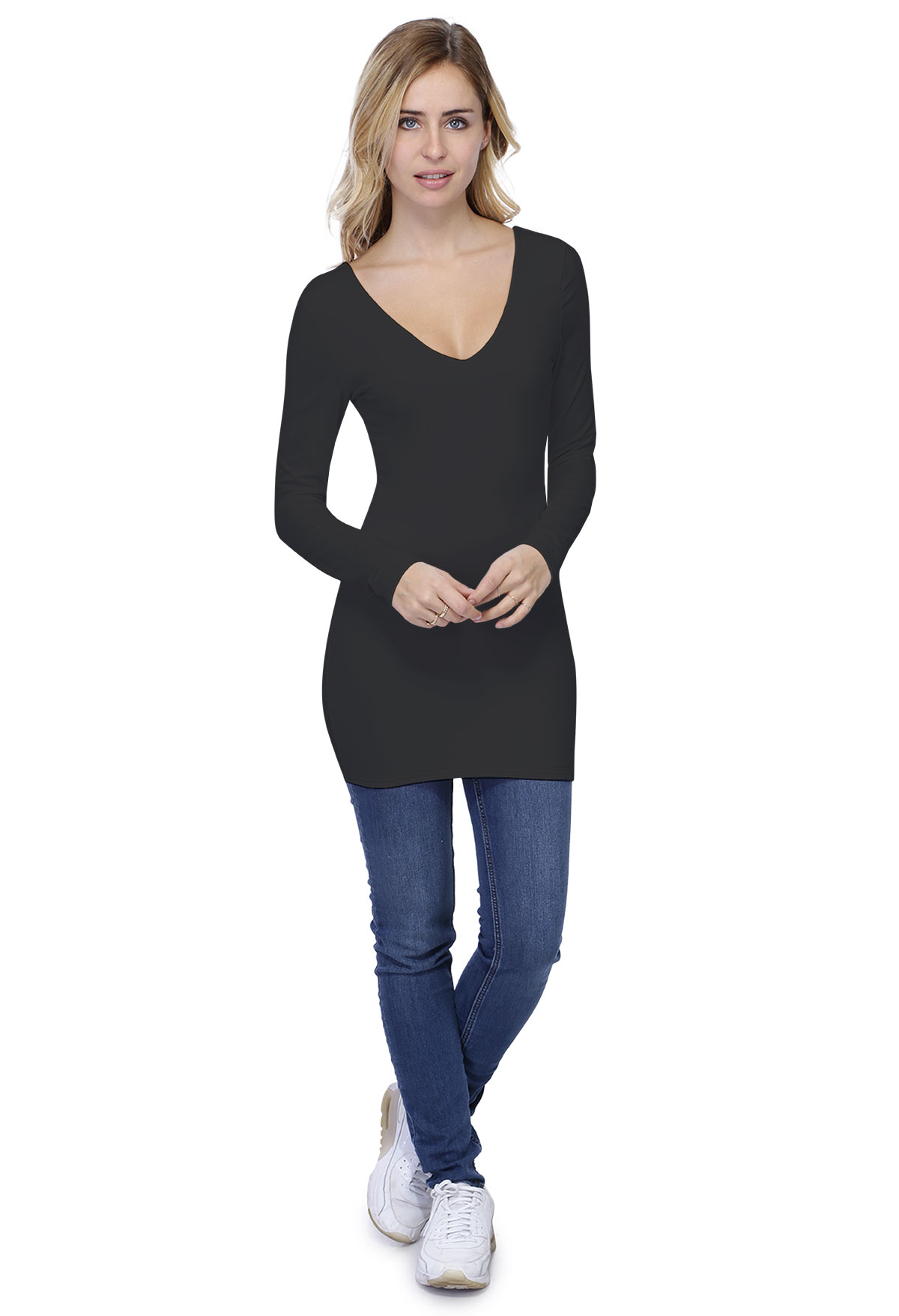 VIVI T-SHIRT LONG M/LONGUE
